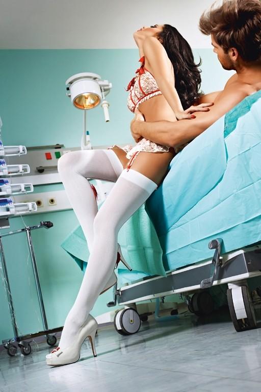 Фото с медсестрой