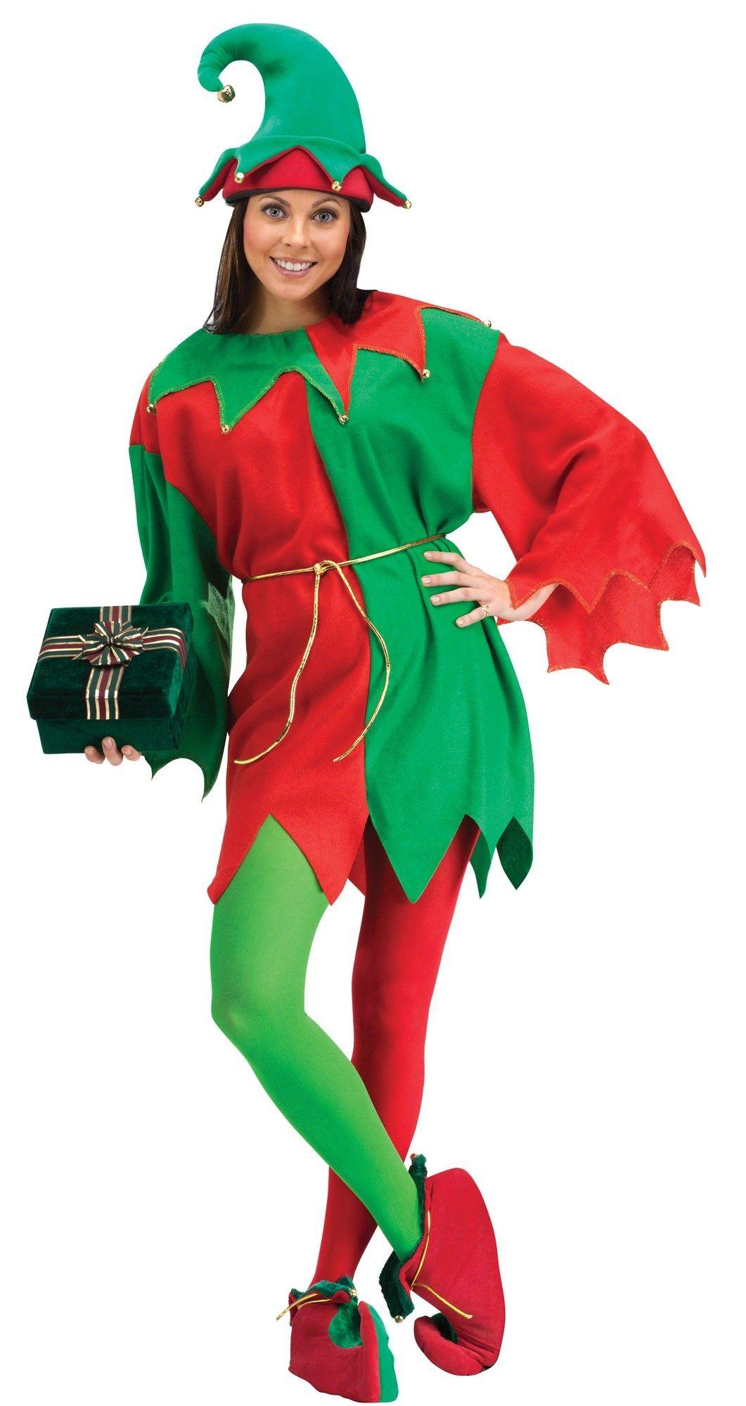 Новогодний костюм эльфа для девочки своими руками