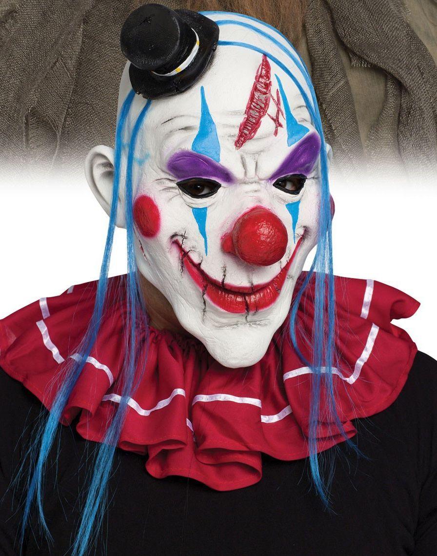 Маска клоуна Мастер-класс своими руками