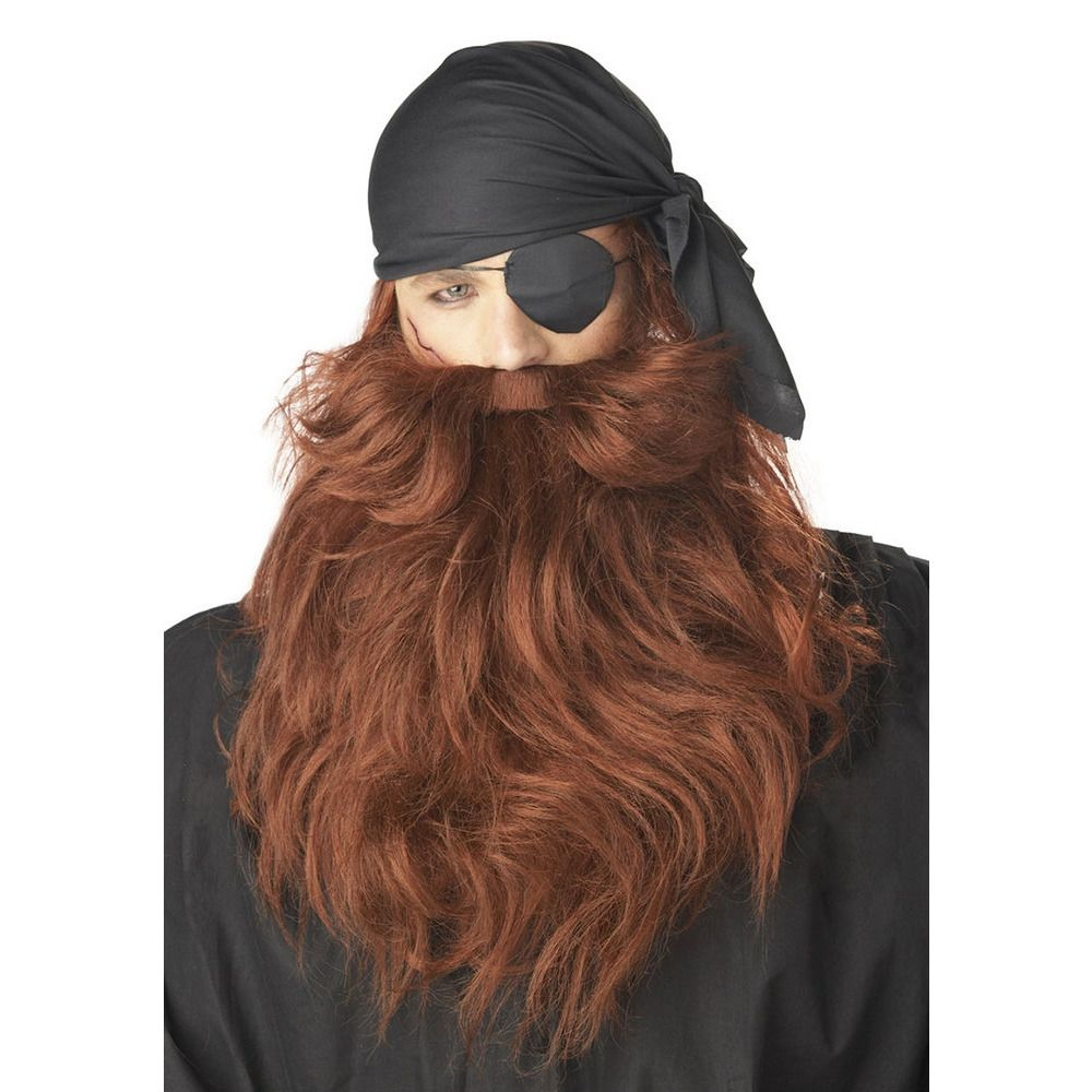 Почему черные волосы а борода рыжая