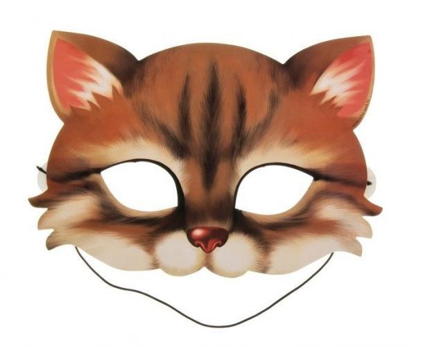 Как сделать маску коту